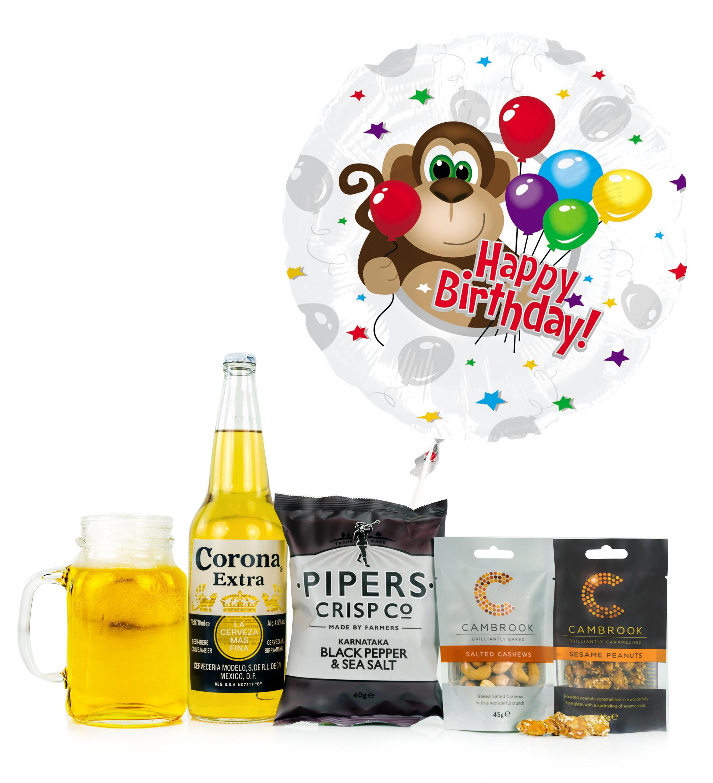 Birthday Balloon & Beer