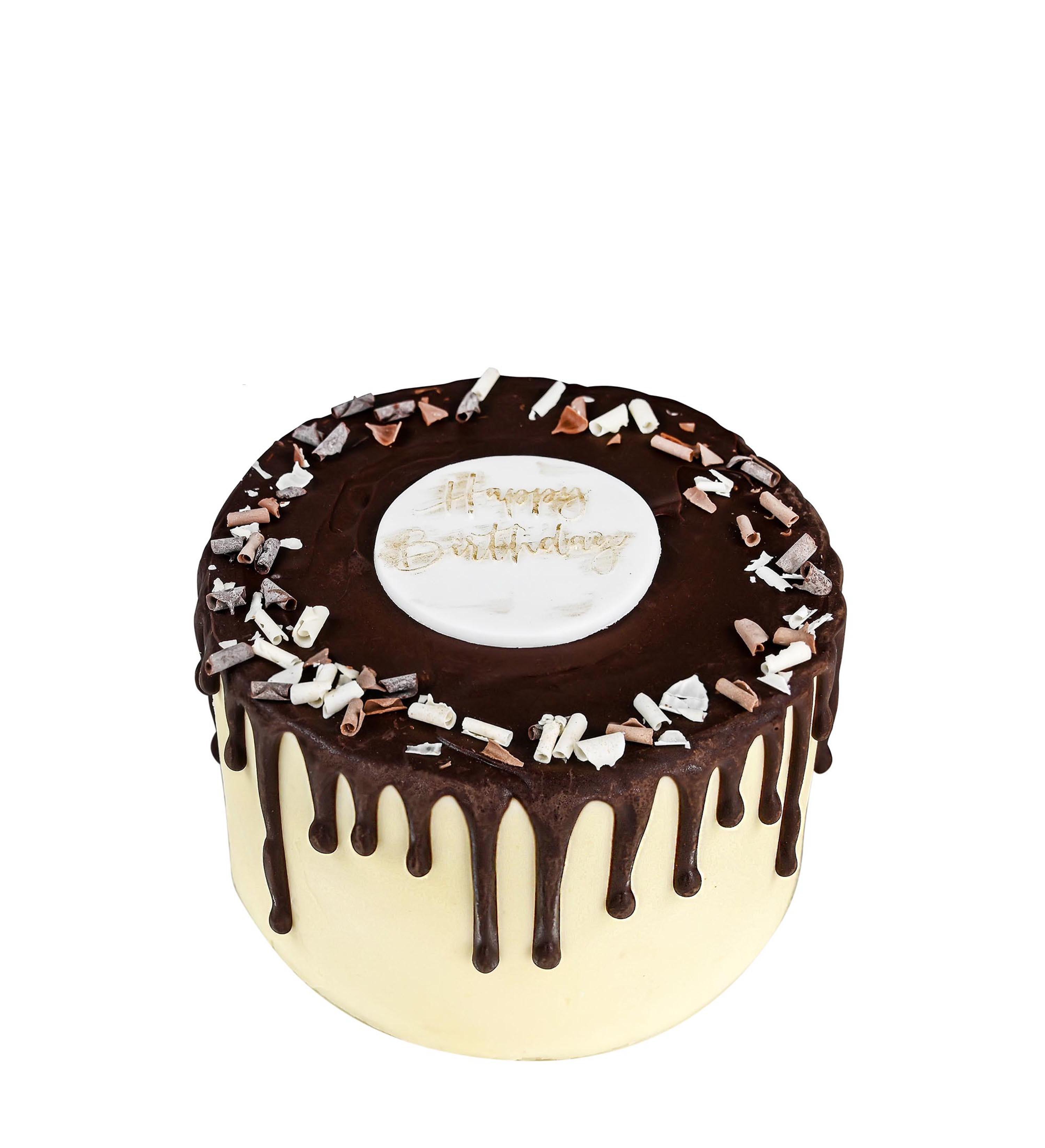 Chocky Wocky Birthday Cake