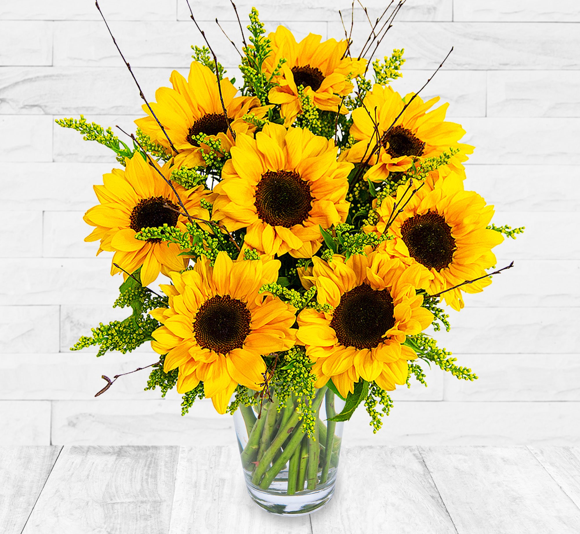 Sunny British Sunflowers
